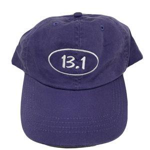 Half Marathon 13.1 Purple Baseball Hat Cap Running